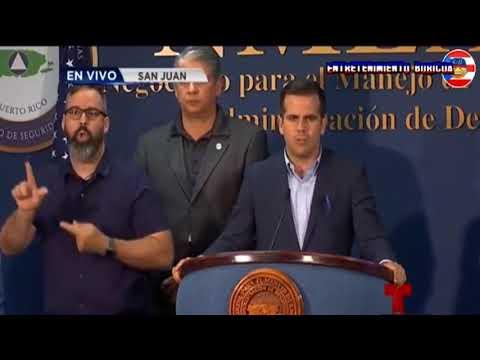 El huracan beryl se acerca a puerto rico Y el gobernador declara estado de emergencia