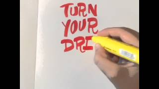 Hand Drawn Type - Turn Your Dreams Into Plans
