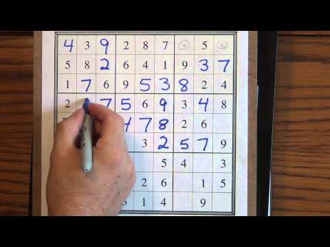 Download How to Solve Easy Sudoku Puzzles Mp4 HD Video and MP3