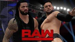 WWE 2K16: Finn Bálor DEBUTS on RAW! (Feat. Updated Attires & NEW Arena)