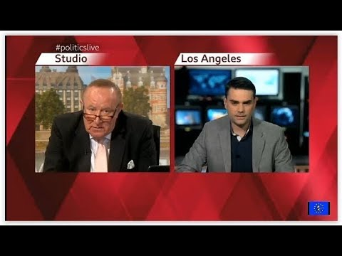 Ben Shapiro: Alt Right hero gets the Andrew Neil treatment and doesn't like it