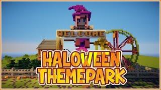 Halloween Themepark Timelapse!