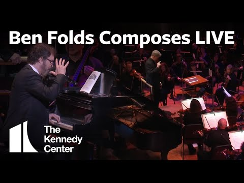 Ben Folds Composes a Song Live for Orchestra In 10 Minutes