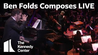 <b>Ben Folds</b> Composes A Song LIVE For Orchestra In Only 10 Minutes