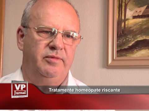 Tratamente homeopate riscante