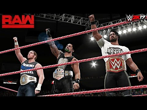 the shield destroys everyone on raw