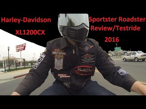 2016 Harley Davidson Roadster Test Ride and Review XL1200CX