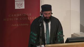 Zain Hashemi Recitation of Poem Qad Kafānī Ilmu Rabbī by ...