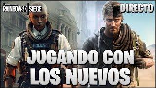🔴 JUGANDO CON MAVERICK Y CLASH EN GRIM SKY | Caramelo Rainbow Six Siege Español