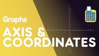 Axis & Coordinates   Graphs   Maths   FuseSchool