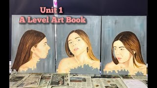 A LEVEL ART BOOK| UNIT 1