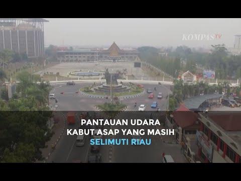 Inilah Pantauan Udara Kabut Asap yang Masih Selimuti Riau