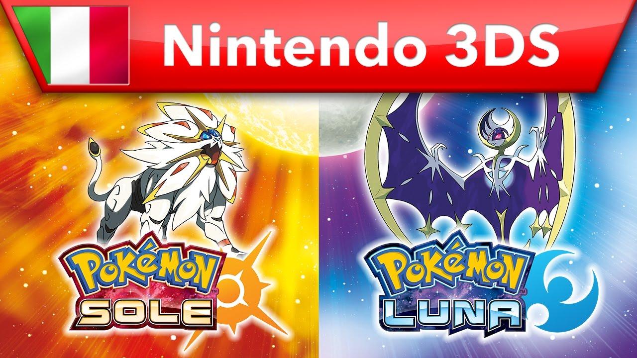Trailer di Pokémon Sole e Luna