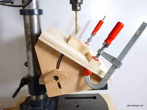 Jax Design How To Make An Angle Drilling Jig