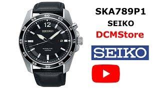 SKA789P1 Seiko Kinetic Black Dial ...... DCMStore