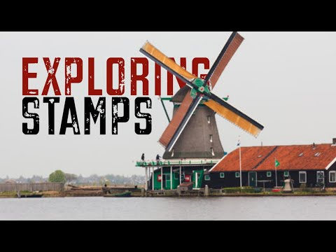 Exploring Stamps: Windmill Stamps