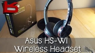 Unboxing: Asus HS-W1 Wireless USB Headset