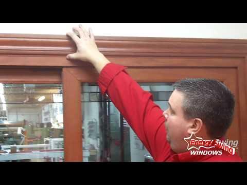 Energy Swing Window's Sliding Glass Door Demonstration