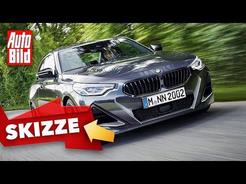 BMW 2er Coupé (2021) | Diese heißersehnten BMW-Features kommen bei dem 2er Coupé zurück | Skizze
