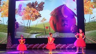 Выступление на новогоднем концерте 2018-2019. Школа балета Classic.