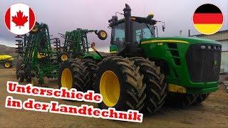 Landmaschinen XXL | Landwirtschaft In Kanada | Unterschiede | Erklärung