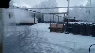 """Рейс Омск- Минск Ч1 """" мороз под 40"""""""