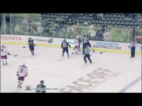 Brenden Morrow vs. Rostislav Klesla