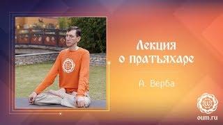 Лекция о пратьяхаре. Андрей Верба