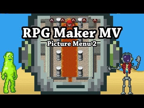 RPG Maker MV: Plugin - Menu Options Screen Resolution - смотреть