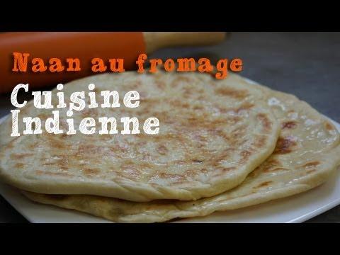Recette des naans au fromage, cuisine indienne
