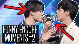 BTS  FUNNY ENCORE MOMENTS #2
