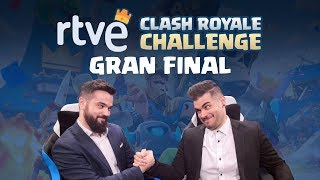 Gran final de RTVE Clash Royale Challenge | Playz