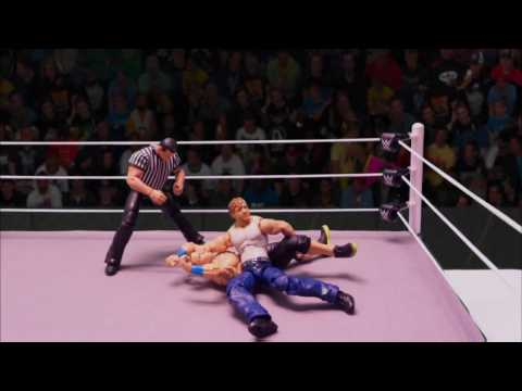 JWS -  Dean Ambrose vs John Cena  (Unfinished Match)