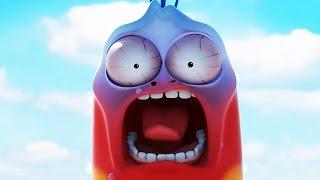 LARVA - NEW YEARS EVE IN NEW YORK | 2016 Full Movie Cartoon | Videos For Kids | Kids TV Shows