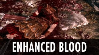 Skyrim Mod: Enhanced Blood Textures