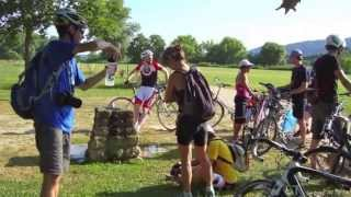 preview picture of video 'Cycle Luxembourg group ride to Alles op de Vëlo cycling event'