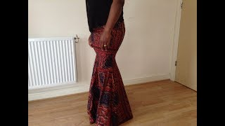 How to cut six pieces skirt (easy)