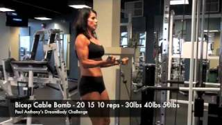 Calgary Fitness Tutorial - Bicep Cable Bomb
