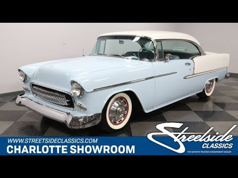 Video of 1955 Chevrolet Bel Air - $51,995.00 - PF3U