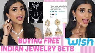 BUYING FREE INDIAN JEWELRY FROM WISH