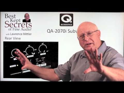 Q-Acoustics 2050i Speakers & 2070i Sub - Best Kept Secrets with Lawrence Mittler