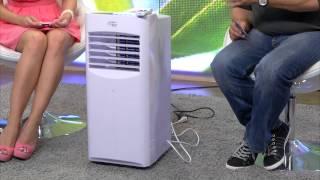 Sichler Verdunstungs-Luftkühler mit Ionisator LW-550, 70 Watt