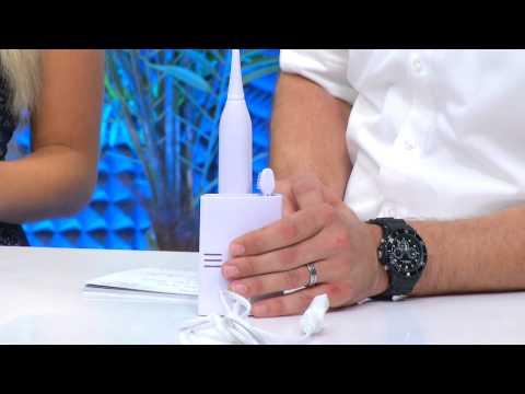 newgen medicals Kompakte Munddusche mit Batteriebetrieb