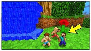 NOOB CONTRO MINI TSUNAMI E PICCOLI DISASTRI NATURALI! - Minecraft ITA