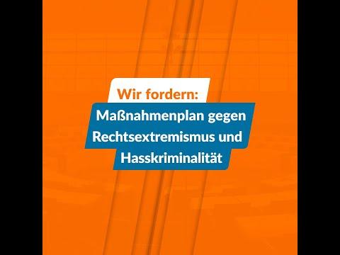 Maßnahmenplan gegen Rechtsextremismus und Hasskriminalität
