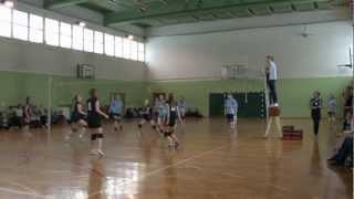 preview picture of video 'Mistrzostwa Otwocka szkół gimnazjalnych w siatkówce dziewcząt. Otwock 15-03-2013r'