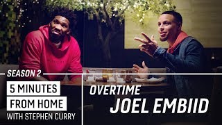 Joel Embiid And Stephen Curry Draft Their All Time NBA Teams | 5 Minutes From Home Overtime