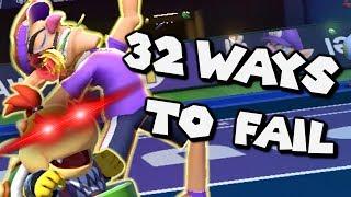 32 Ways To Fail In Mario Tennis Aces