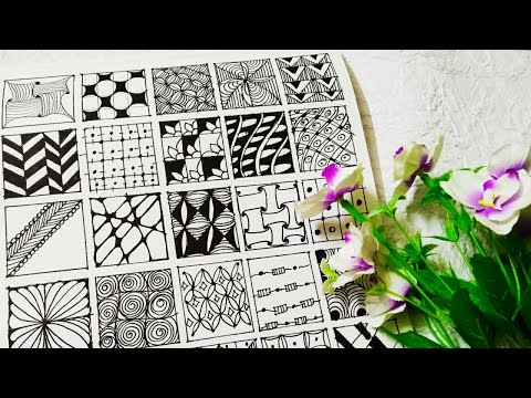 Download A Simple Zentangle Design Video 3GP Mp4 FLV HD Mp3 Download