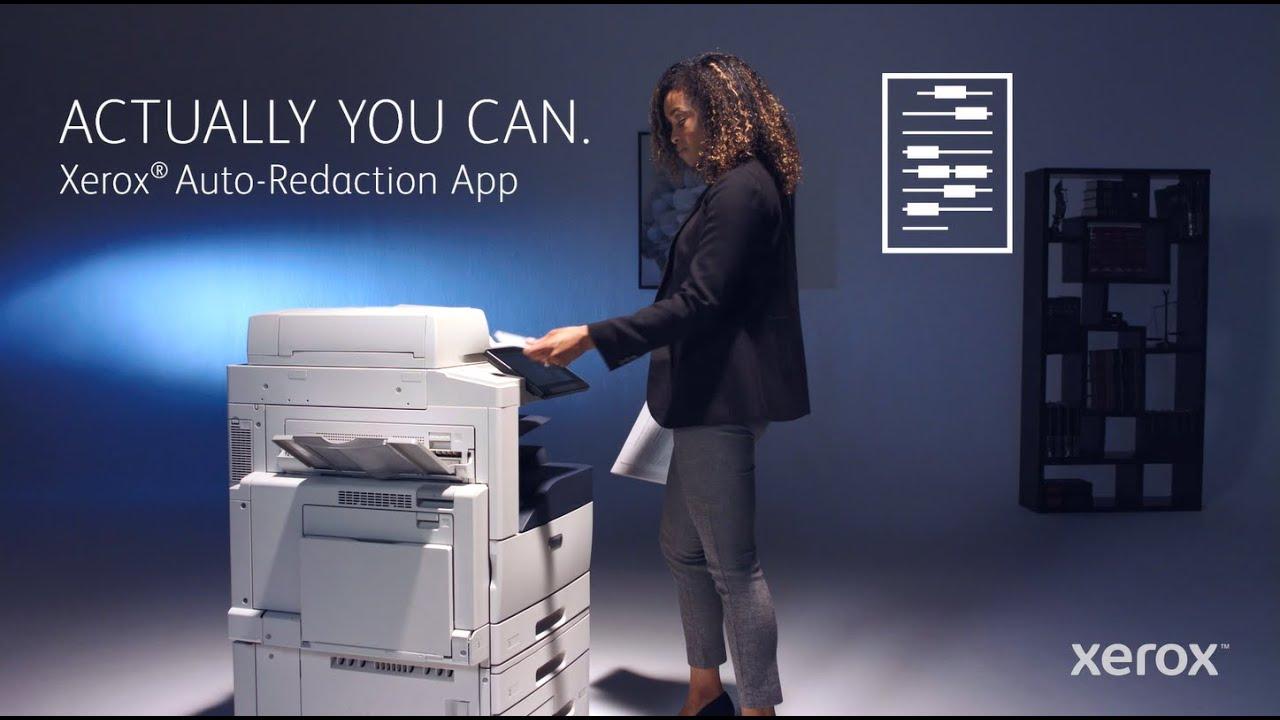 Appli de correction auto Xerox® YouTube Vidéo